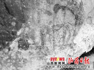 陵川万年岩画考察记
