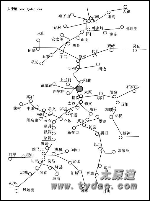 石家庄到涉县地图