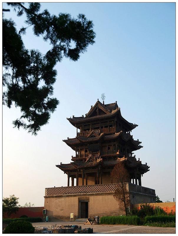 万荣县后土祠秋风楼,以下图片均来源于
