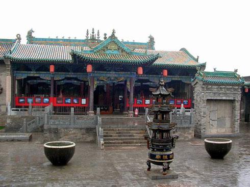 山西旅游 平遥城隍庙清虚观文庙雷履泰故居